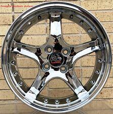 "4 New 17""  Wheels Rims for Ford Mustang Cobra R 1979-1992 Deep Dish -6210"