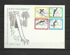 DDR - Nr. 1000° - 1003° Olympische Winterspiele - FDC von 1963 -