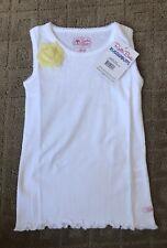 NWT RUFFLEBUTTS WHITE Tank Top 6 SHIRT RUFFLE NEW Shirt Summer boutique YELLOW