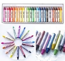 25 Colors Set Bulk Wax Crayons Children Kid Drawing Gift Colorful Stick Gift @