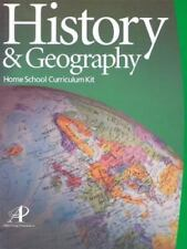 Lifepac History & Geography Complete Grade 8 Set