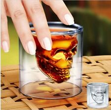1x Skull Vodka Shot Whiskey Wine Beer Bar Glass Drinking Cup Party Birthday Gift