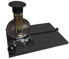 Manual Deboss Embossing Machine Dog Tag Metal Plate Stamping Embosser