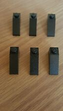LEGO 4286 , 33 DEGREE SLOPE 1 x 3 BLACK QTY x 6  BRAND NEW SPARE PARTS