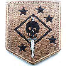 USMC MARINE RAIDERS THE UNITED STATES NARINE CORPS COMMANDOS USA ARMY PATCH #2