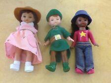 2002 McDonalds Madame Alexander dolls - lot of 3 dolls