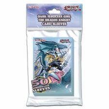 Yugioh Card Sleeves Dark Magician Girl The Dragon Knight Konami 50ct