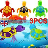 Cute Swimming Turtle Animal Wound up Clockwork Newborn Baby Toddlers Bath Toys