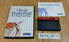 SEGA Master System Great Basketball PAL