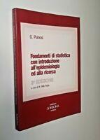 Fondamenti di statistica con introduzione all'epidemiologia ed alla ricerca