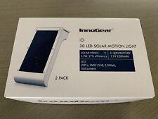 InnoGear 20 LED Solar Motion Light - 2 Pack