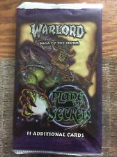 Warlord Saga Of The Storm CCG 3 Booster Packs