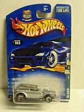 2002 Hot Wheels #103 Red Lines Series 1/4 THE DEMON Silver NIP