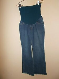 Motherhood Womens Size L Denim Maternity Blue Jeans Inseam 31""