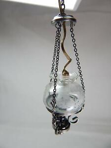 Heidi Ott Dollhouse Miniature Light 1:12 Scale Hanging  Lamp #YL5047-AS