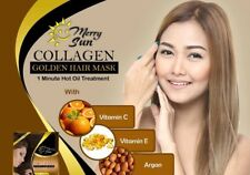 COLLAGEN GOLDEN HAIR MASK 1 minute hot oil treatment (20gx12-1DOZEN )pricedown!!