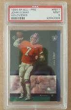 1994 SP All-Pro Football PB11 John Elway Holoview card PSA 9 Mint Denver Broncos