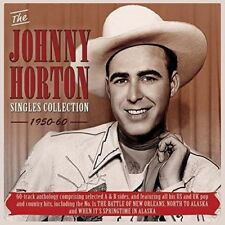 JOHNNY HORTON SINGLES COLLECTION 1950-60 2 CD NEW