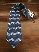 Hardy Amies Silk Tie - Made in Italy - Width 9.5cm - New With Tags