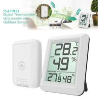 Digital Wireless Indoor Outdoor Thermo-Hygrometer Thermometer Humidity Meter