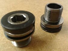 Truvativ ISIS Bottom Bracket Bolts M15 (Pair) 15mm Thread (Allen Key Fitment)