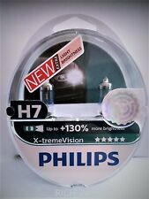 Philips X-tremeVision H7 bis zu 130% mehr Halogenlampe 12972XV+S2 Duo 2,.