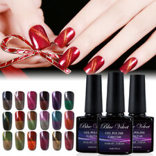 Blue Velvet 10ml Gel Polish Thermal Change Vamish UV  LED Top Coat  Series