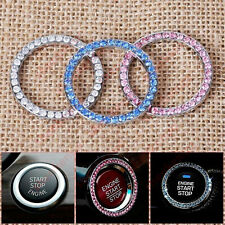 Artificial Crystals Ring Trim For One-Button Car Engine Start Stop Swith Button