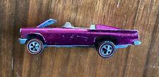 1968 Classic '57 Bird Red Line purple Hot Wheels car