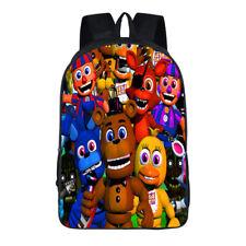 Five Nights at Freddy's Backpack Boy's Book Laptop Bag School Shoulder Bags 44cm