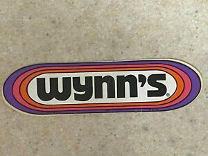 Wynn's Oil Additive Decal