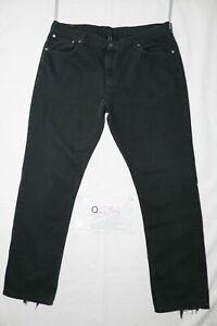 Levi's 581 boyfriend D'Occassion (Cod.Q434) W42 L34 en Jeans Bouffant Noir