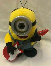 Minions Movie Talking Rock 'N Roll Stuart Musical Plush Toy