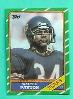 (1) WALTER PAYTON 1986 TOPPS  # 11 CHICAGO BEARS  NM-MT CARD (V0430)
