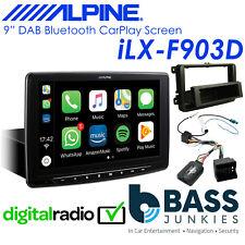 "VW Golf T5 Passat Alpine 9"" Touchscreen DAB Bluetooth CarPlay Android Stereo"