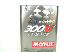 Motul 300V le Mans 20W60 2Liter Première Noyau Racing Huile 20W-60 Synthétique