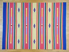 "9'x12'1"" Hand Woven Flat Weave Killim Southwestern Design Rug R26073"