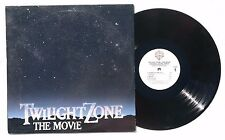 JERRY GOLDSMITH: Twilight Zone The Movie Soundtrack LP WARNER RECORDS US 1983 NM