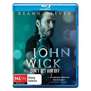 John Wick Blu-ray Brand New Sealed Region B Aust. - Keanu Reeves - Free Post