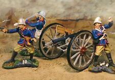 The Collectors Showcase Zulu War Cs00325 British Rha 7 Pd. Artillery Set Mib