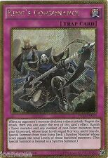 KING'S Consonance pgl3-en019 GOLD SECRET RARE Yu-Gi-Oh card 1st Edition NEW