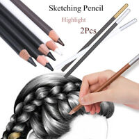 Writing Tool Smooth Sketching Pencil Painting Drawing Pen White Highlighter