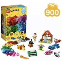 Lego 11005 Classic Creative Box Set 900pcs Bricks Kids Toy Playset Building Kit