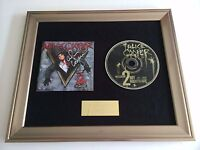 SIGNED/AUTOGRAPHED ALICE COOPER -WELCOME 2 MY NIGHTMARE FRAMED CD PRESENTATION.