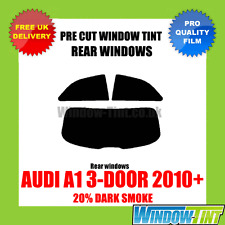 AUDI A1 3-DOOR 2010+ 20% DARK REAR PRE CUT WINDOW TINT