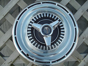 1965 PLYMOUTH FURY SAVOR GTX RD RUNNER BELVEDERE SATELLITE HUBCAP  WHEEL COVER