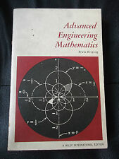 ADVANCED ENGINEERING MATHEMATICS ERWIN KREYSZIG WILEY 1966 FOURTH PRINTING