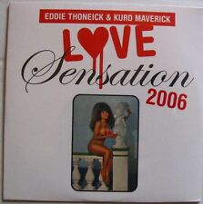 EDDIE THONEICK KURD MAVERICK LOVE SENSATION (CD Single) NEW SEALLED