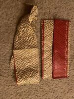 Vintage Thin Clutch With Matching Hair Piece