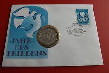 *Russland 1 Rubel 1986 PP(Original)*Jahr des Friedens in Numisbrief * (ALB12)